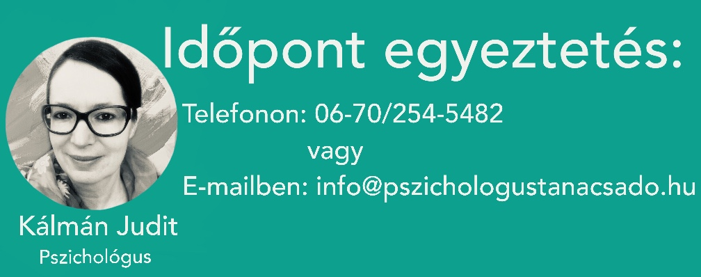 Kálman Judit online pszichológus